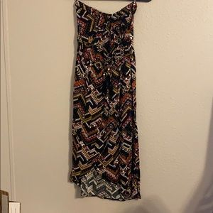 NWOT Hello Miss Strapless Wrap Dress Small